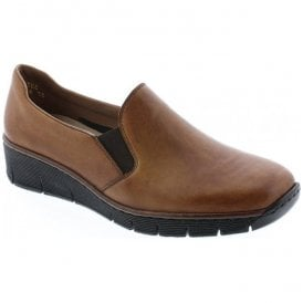 Cristallin Tan Slip On Casual Shoes 53766-24