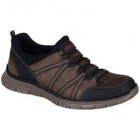Virag Brown Combi Casual Trainers B4871-04