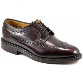 Mens Royal Oxblood Lace Up Brogue Shoes