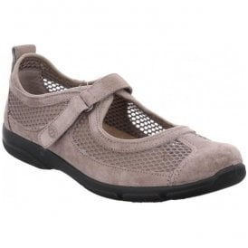 Womens Traveler 02 Taupe Low Top Shoes
