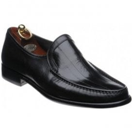 Mens Augustus Black Leather Formal Shoes
