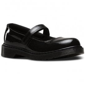 Maccy Y Black Patent Lamper Mary Jane Shoes 22002001