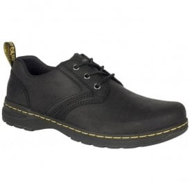 Mens Gilmer Black Lace Up Shoes 22881001