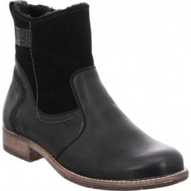 Womens Sienna 55 Black Ankle Boots 99655 VL001 100