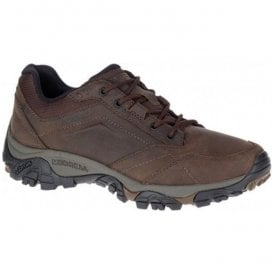 Mens Moab Adventure Dark Earth Waterproof Trainers J91825