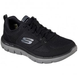 Mens Flex Advantage 2.0 - Lindman Black/Charcoal Trainers 52189
