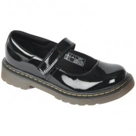 Core Maccy Black Patent Mary Jane Shoes 15655002