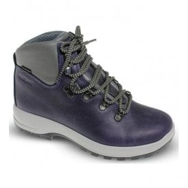 Womens Hurricane Purple Waterproof Walking/Hiking Boots