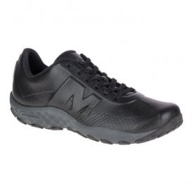 Mens Sprint Lace Leather AC+ Black Shoes J91691