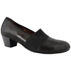 Womens Hilaria Valkyrie Night Black Slip On Shoes 358505 118 194