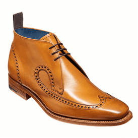 Mens Cooke Cedar Calf Lace-Up Chukka Boots