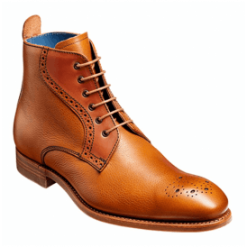 Mens Jude Cedar Grain/Rosewood Calf Brogue Boots