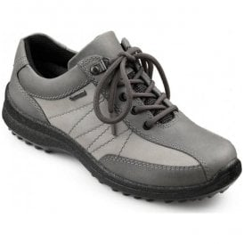 Womens Mist Extra Wide GTX Smoke/Limestone Nubuck Waterproof Lace Up Shoes