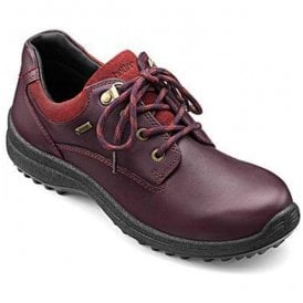 Womens Ramble Extra Wide Aubergine/Cherryberry Gore-Tex Shoes