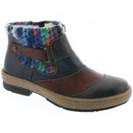 Eagle Multicoloured Ankle Boots Z6782-45