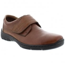Cavallino Brown Velcro Shoes 15262-24