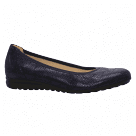 Womens Splash Navy Slip On Wedge Shoes 82.620.26