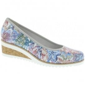 Womens City Multi Floral Slip-On Shoes D5500-90