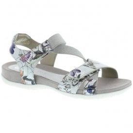 Womens Madeira Off White Strap Over Sandals R3257-90