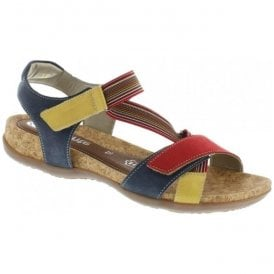 Womens Genua Multi Strap Over Sandals R3257-33