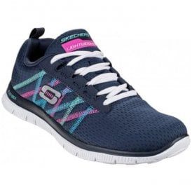 Womens Navy/Multi Flex Appeal - Something Fun Shoes SK11885