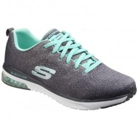 Womens Charcoal/Multi Skech-Air Infinity - Modern Chic Shoes SK12178