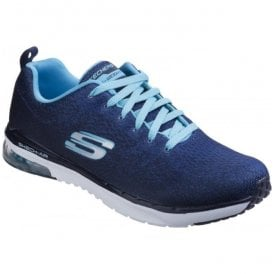Womens Navy/Light Blue Skech-Air Infinity - Modern Chic Shoes SK12178