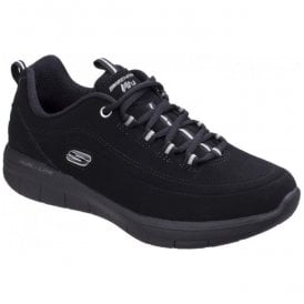 Womens Black Synergy 2.0 - Side Step Shoes SK12364