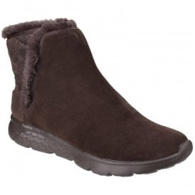 Womens Chocolate On The Go 400 - Cozies Pull on Ankle Boots SK14356