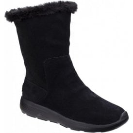 Womens Black On The Go City 2 - Appealing Calf Boots SK14620