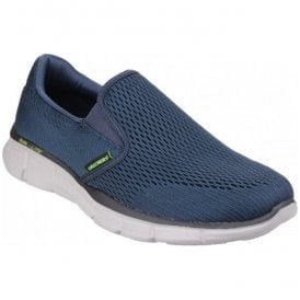 Mens Navy Equalizer - Double Play Slip On Trainers 51509