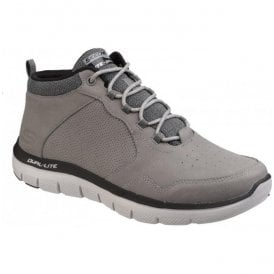 Mens Charcoal Flex Advantage 2.0 High Key High-Top Trainers SK52187