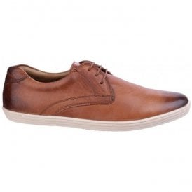 Mens Concert Burnished Tan Leather Shoes