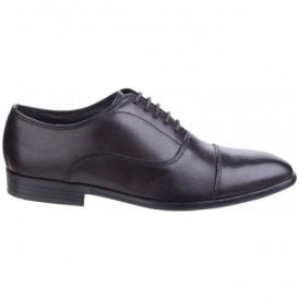 Mens Richards Washed Brown Formal Shoes