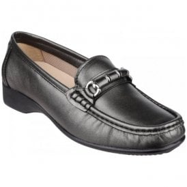 Womens Barrington Pewter Slip on Loafer Shoes