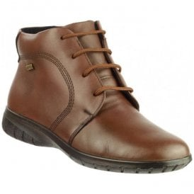 Womens Bibury Brown Waterproof Lace Ankle Boots