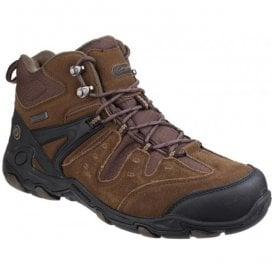 Mens Coberley Olive/Brown Waterproof Lace up Hiking Boots