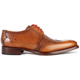 Mens Dexter Harbour Mahogany Burnished Calf Gibson Shoes