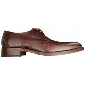 Mens Dexter Angel Burgundy Gibson Shoes