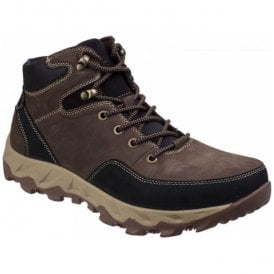 Mens Northmoor Brown Lace-up Boots