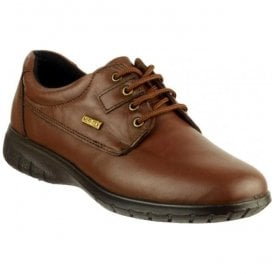Womens Ruscombe Brown Lace-up Waterproof Shoes