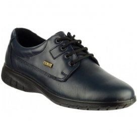 Womens Ruscombe Navy Lace-up Waterproof Shoes