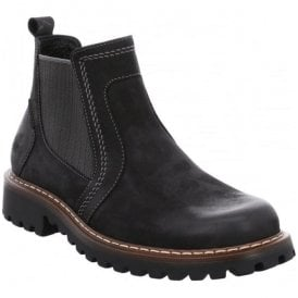 Mens Chance 27 Black Chelsea  Boots 21946 81 100