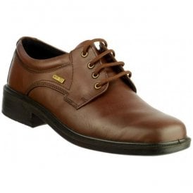 Mens Sudeley Brown Waterproof Lace-Up Shoes