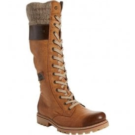 Eagle Nutmeg 14 Eyelet Lace Up Waterproof Calf Boots Z1442-24