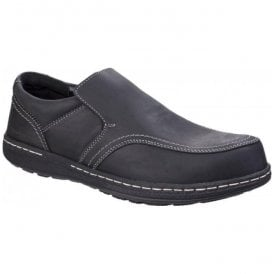 Mens Vindo Victory Black Formal Slip on Shoes