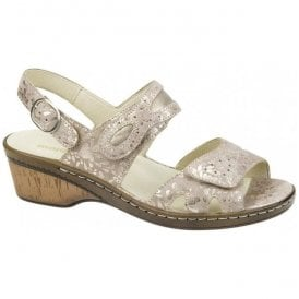 Womens Hetta Light Gold Sandals 547002 206 102