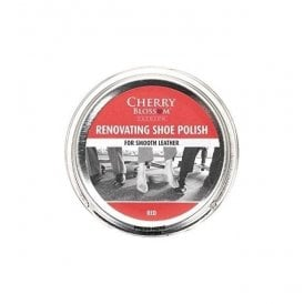 Premium Red Renovating Shoe Polish
