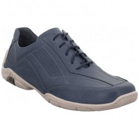 Mens Pietro 13 Blue Lace Up Shoes 24213 950 530