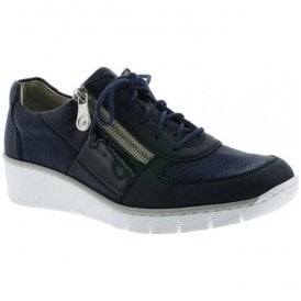 Eagle Blue Lace-Up Casual Shoes 53714-14